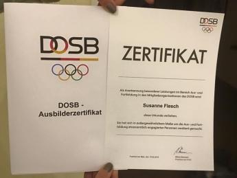 DOSB - Ausbilderzertifikat